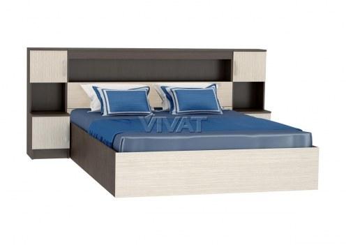 Кровать Бася КР-552 с закроватным модулем