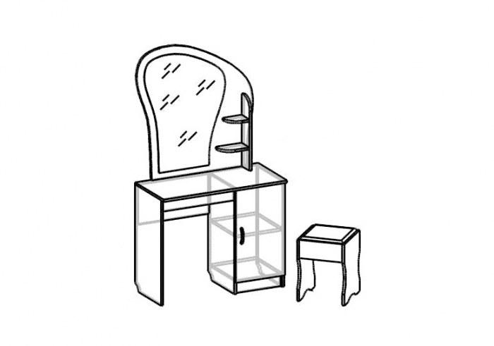 Стол с банкеткой Светлана СВ-77