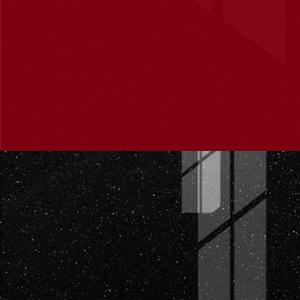 Бордовый глянец / Чёрный металлик