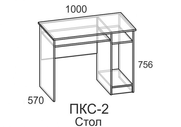 Компьютерный стол ПКС-2