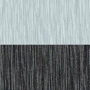 Серый металлик дождь / Чёрный металлик дождь