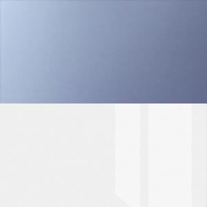 Сизый глянец / Белый глянец
