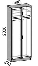 Шкаф 2-дверный MP-50 Машенька