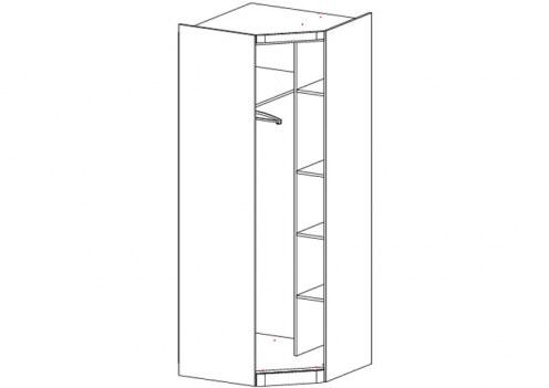 Шкаф угловой Модена (без двери)