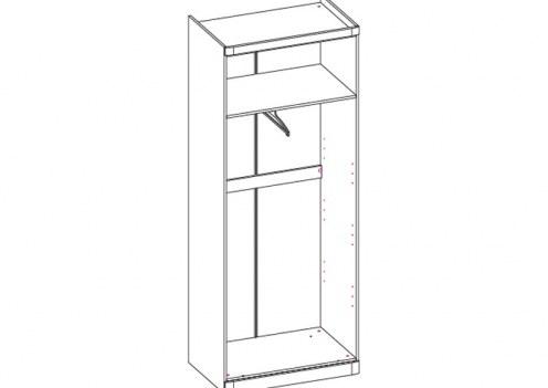 Шкаф 2-х дверный Модена (без дверей)