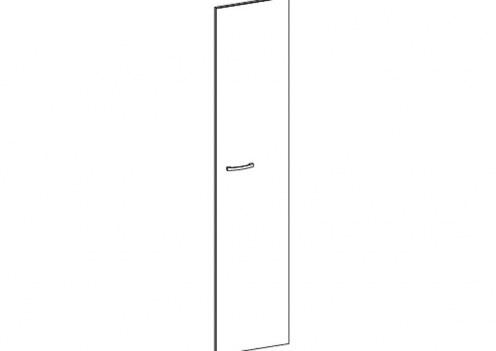 Дверь зеркальная Модена
