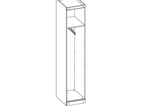 Шкаф 1-но дверный Модена (без двери)