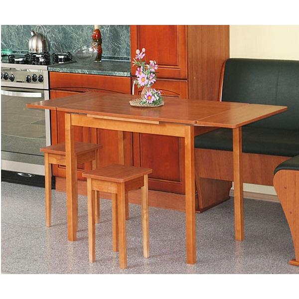 Обеденный стол раздвижной со скруглением