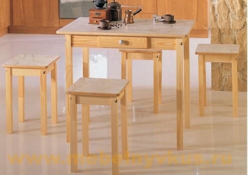 Обеденный стол (прямая нога)