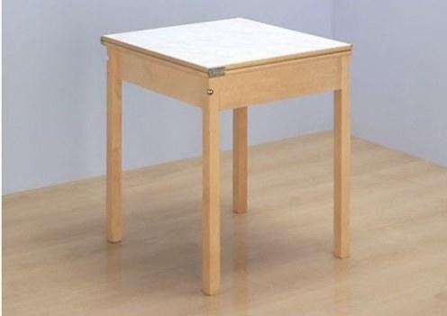 Обеденный стол с выдвижным подстольем