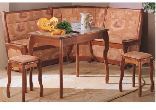 Обеденный стол с фигурной ножкой (нога резная)