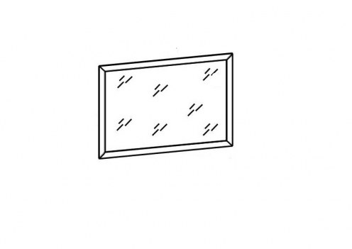 Зеркало подвесное СВР-19 Светлана рамка