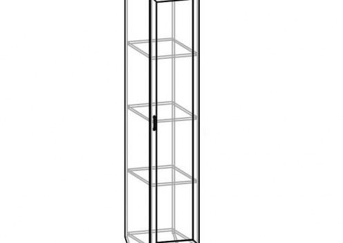 Шкаф 1-но дверный СВР-10 Светлана рамка