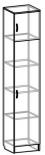 Шкаф 1-дверный М-4 Машенька