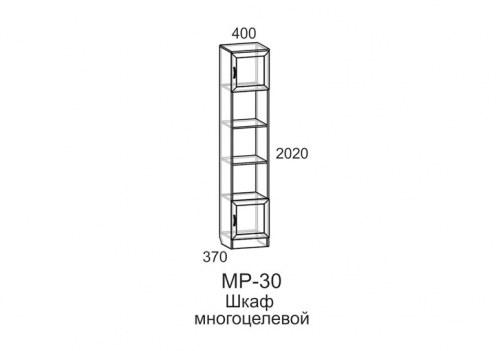 Шкаф многоцелевой МР - 30 Анечка АН-1