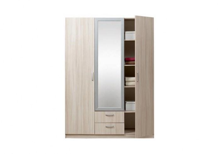 Эко Шкаф 5.14 3-х дверный с зеркалом