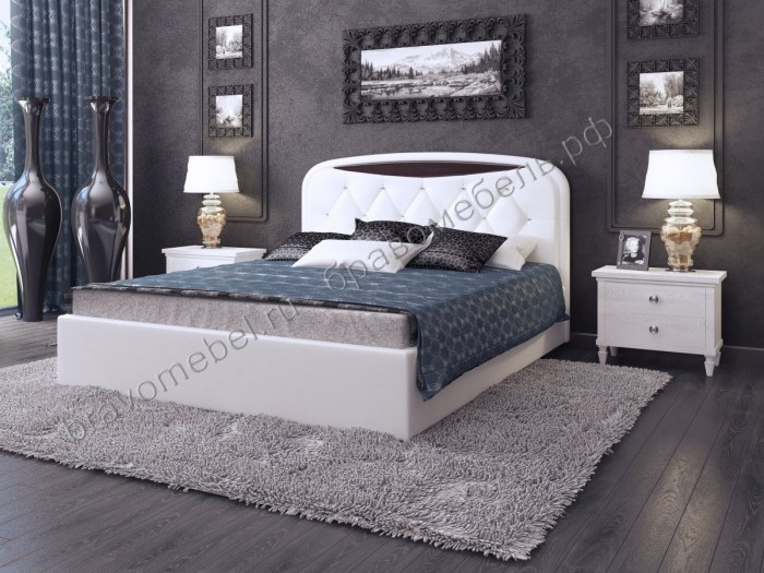 """Кровать мягкая """"Валенсия-1"""""""