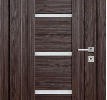Межкомнатная царговая дверь, модель 516