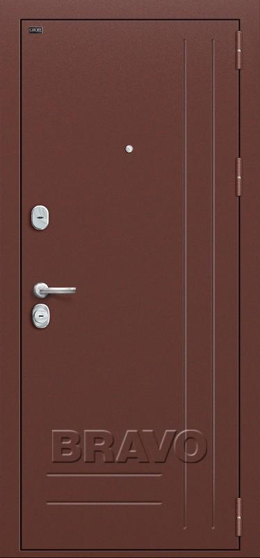 Входная дверь GROFF P2-200 П-1 Темный Орех