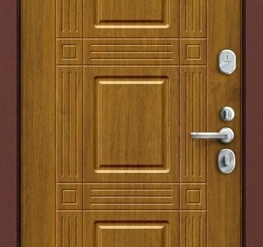 Входная дверь GROFF P2-202 П-4 Золотой Дуб