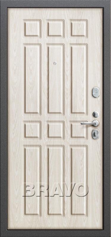 Входная дверь GROFF P2-205 П-25 Беленый Дуб