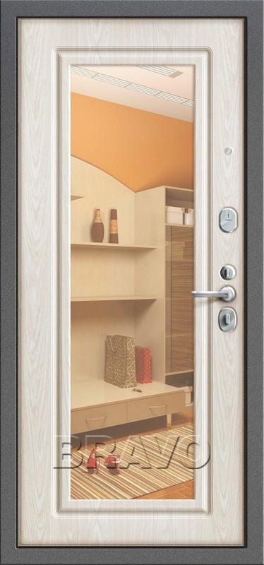 Входная дверь GROFF P2-206 П-25 Беленый Дуб