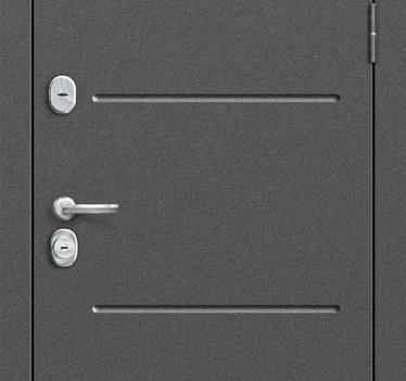 Входная дверь GROFF P2-206 П-28 Темная Вишня