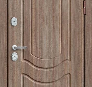 Входная дверь GROFF P3-300 П-1 Темный Орех