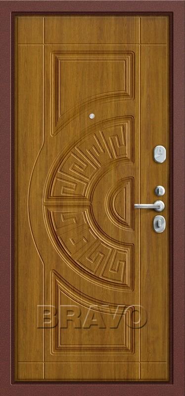 Входная дверь GROFF P3-302 П-4 Золотой Дуб