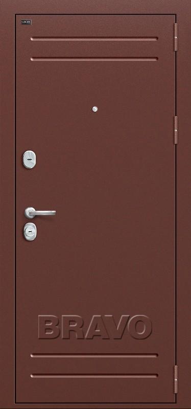 Входная дверь GROFF Т1-210 Антик Медь