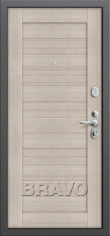 Входная дверь GROFF Т2-221 Cappuccino Veralinga (95мм)