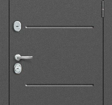 Входная дверь GROFF Т2-223 Cappuccino Veralinga/White Pearl (95мм)