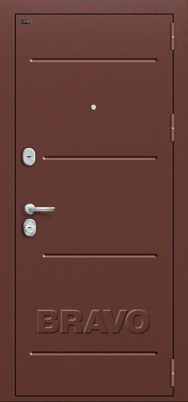 Входная дверь GROFF Т2-223 Wenge Veralinga/Black Star (95мм)
