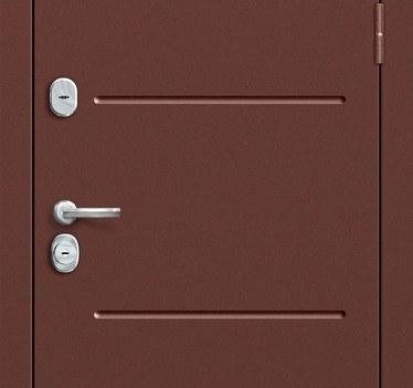 Входная дверь Т2-204 Wenge Crosscut