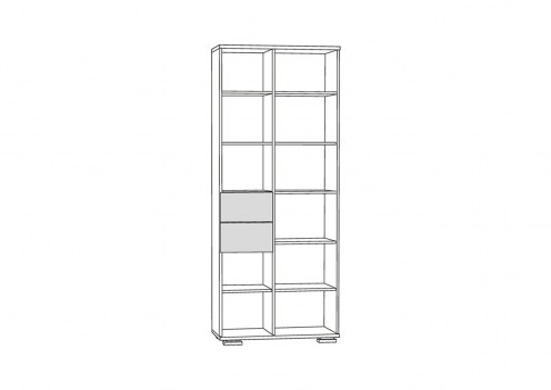 Дарси 1 Шкаф-стеллаж