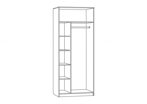 Доминика Шкаф 2-х дверный