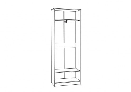 Глория 2 Шкаф для одежды