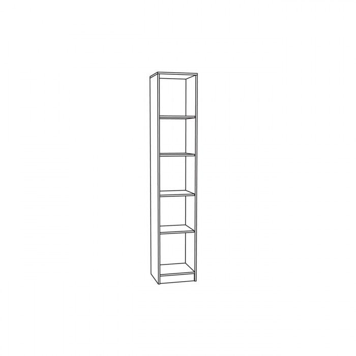 Глория 2 Шкаф узкий
