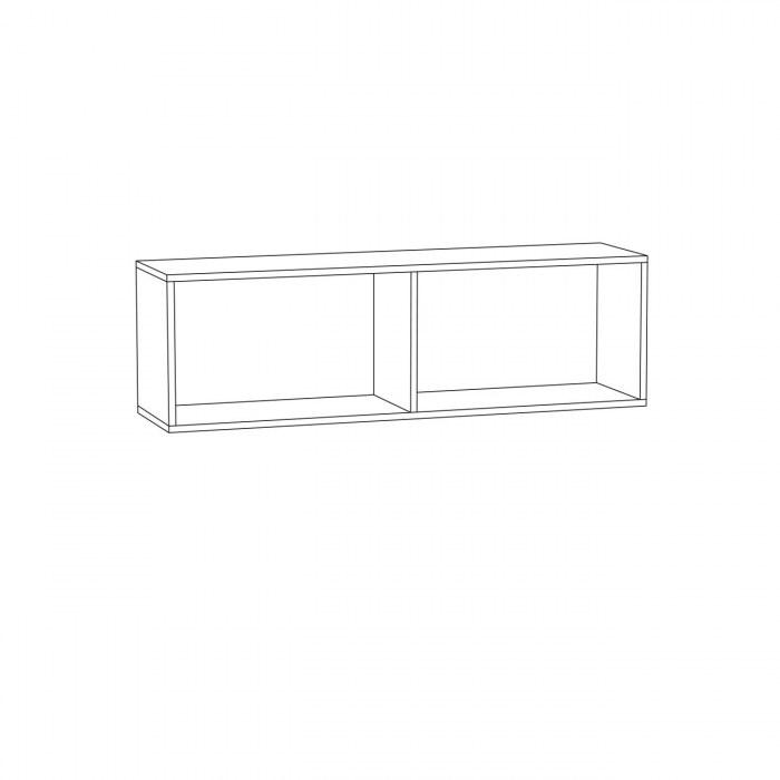 Гринвич Шкаф навесной (2 двери)