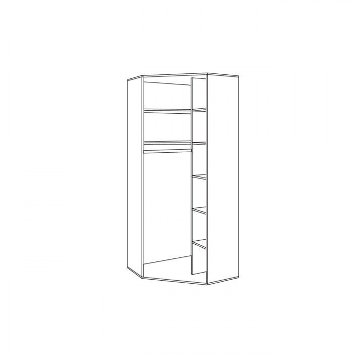 Тетрис 1 Шкаф угловой