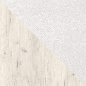 Дуб Крафт белый / Белый