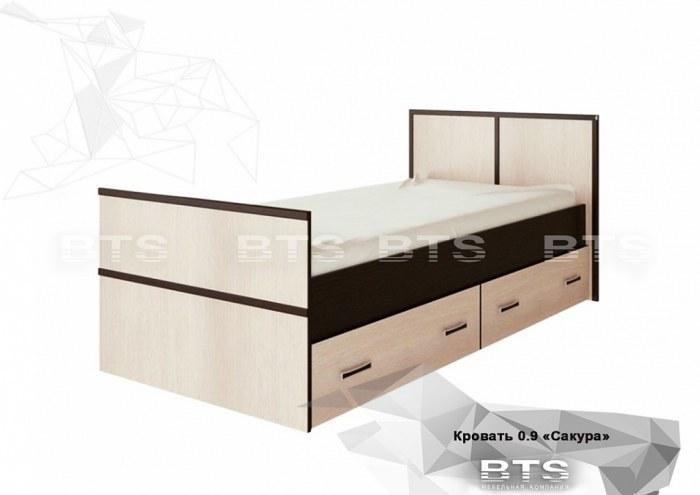 Сакура Кровать 90
