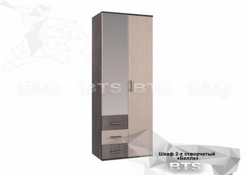 Белла Шкаф 2-х створчатый