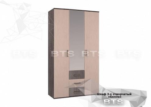 Белла Шкаф 3-х створчатый
