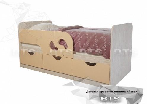 Минима Кровать детская Крем-брюле