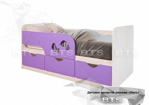Минима Кровать детская Лиловый сад
