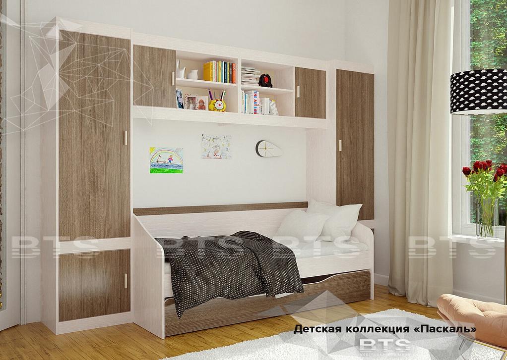 Паскаль Кровать с ящиками