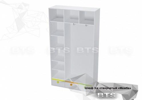 Мамба Шкаф 3-х створчатый ШК-16