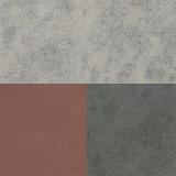Медли эш (серебристый серый)/Коралловый