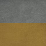Дакар 04 (темный кварцевый серый)/горчичный